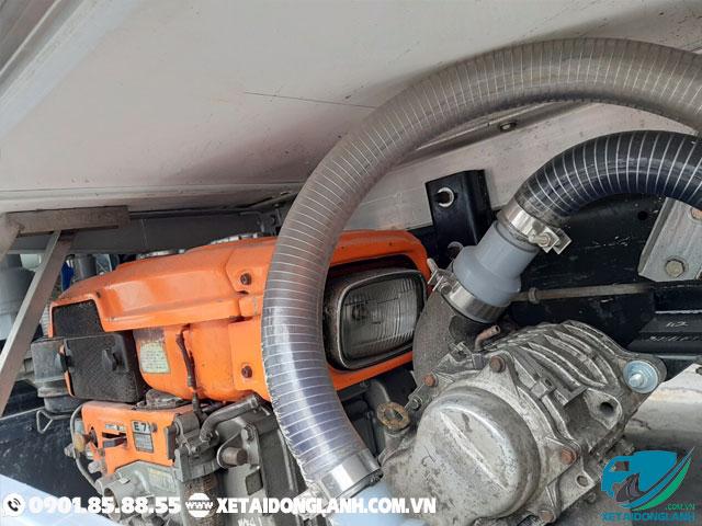 máy tạo oxy trên xe tải thùng bảo ôn