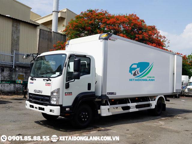 xe tải isuzu 6 tấn thùng bảo ôn